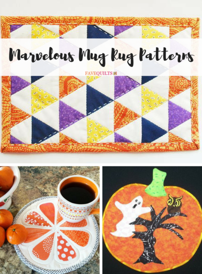 Marvelous Mug Rug Patterns