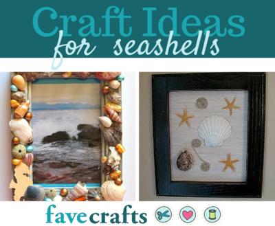 24 Craft Ideas For Seashells Favecrafts