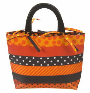 Ribbon Stripes Bag