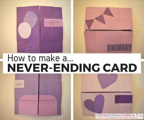 Never Ending Pop Up Card Tutorial Allfreeholidaycrafts