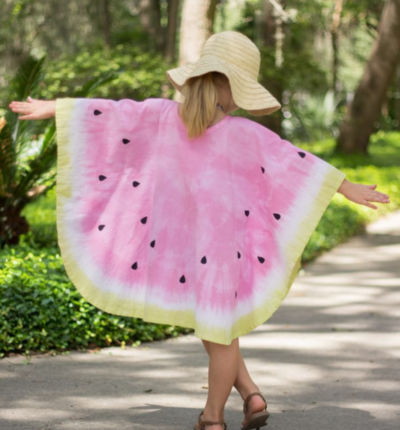 Watermelon DIY Beach Cover Up