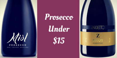 Cheap Prosecco Wines Under $15
