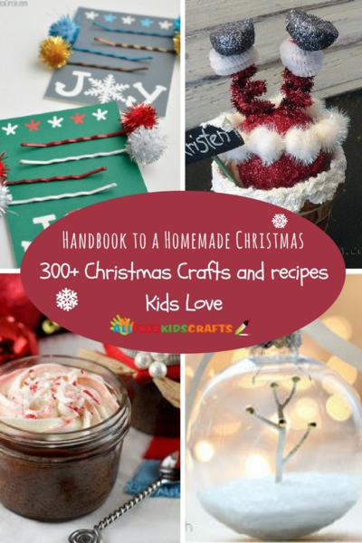 handbook to a homemade christmas 350 christmas crafts and recipes kids love - Homemade Christmas Crafts