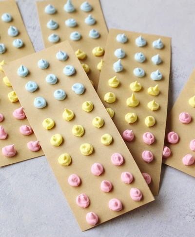 Homemade Candy Buttons