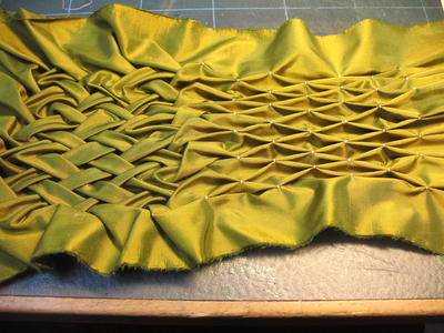 Lattice Smocking Allfreesewing