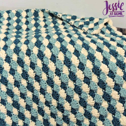 Shell Stitch Baby Blanket Pattern Allfreecrochet