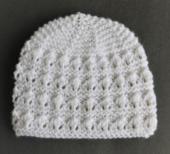 Adorably Sweet Baby Hat Pattern | AllFreeKnitting.com