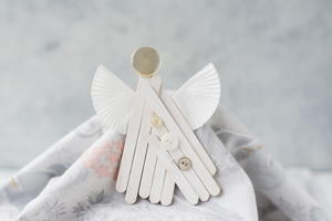 Popsicle Stick Angel Ornament Craft