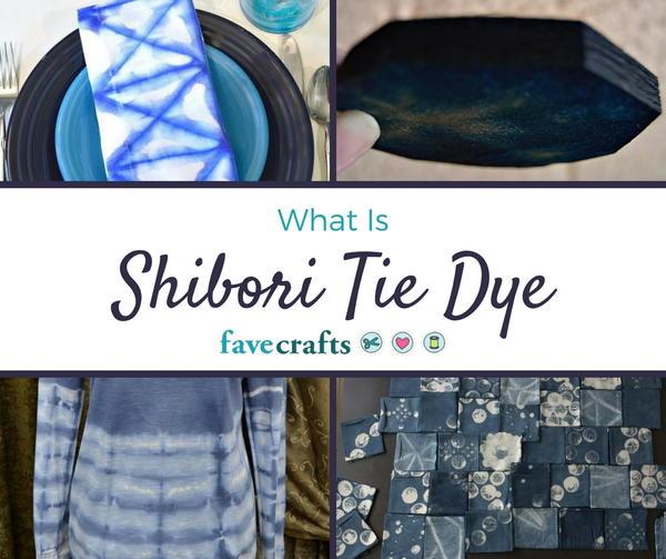 how to shibori tie dye
