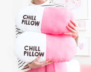 Chill Pill DIY Pillow