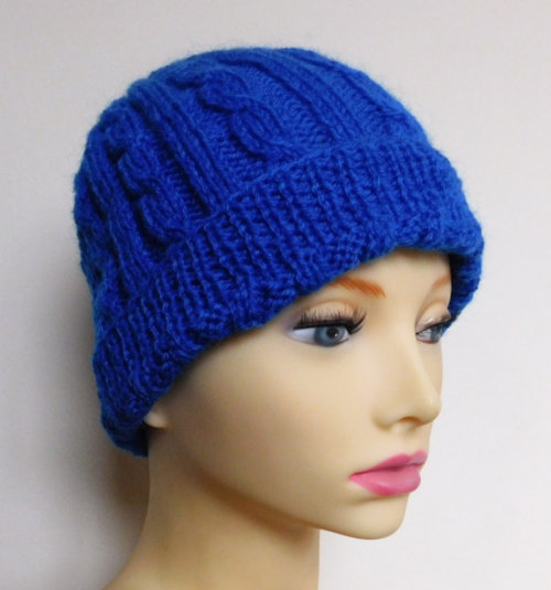 Cozy Cable Knit Hat Pattern