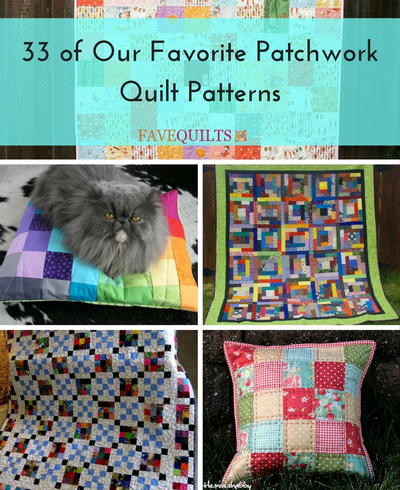 33 of Our Favorite Patchwork Quilt Patterns | FaveQuilts.com : large patchwork quilt - Adamdwight.com