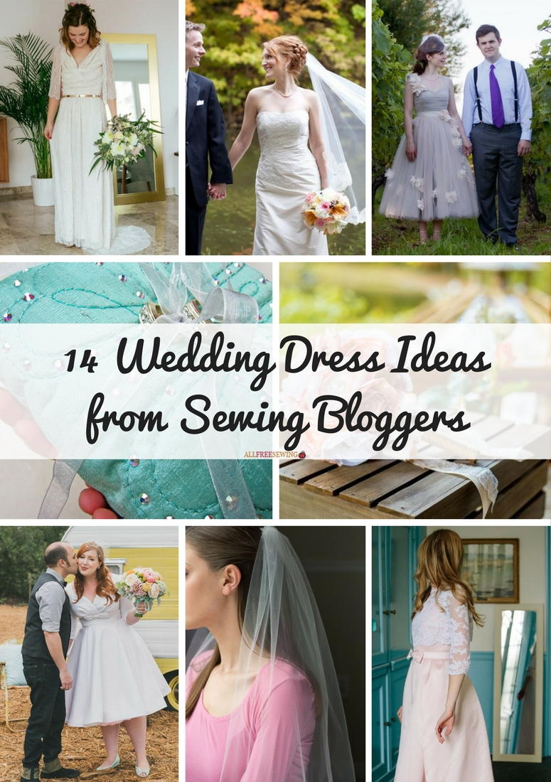 14 Wedding Dress Ideas From Sewing Bloggers