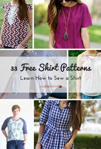 33 Free Shirt Patterns: Learn How to Sew a Shirt
