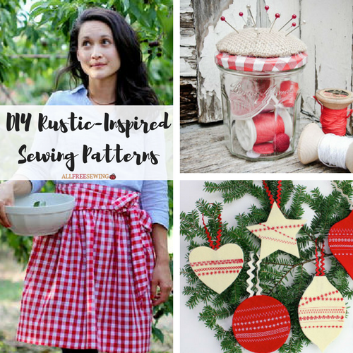 19 DIY Rustic-Inspired Sewing Patterns
