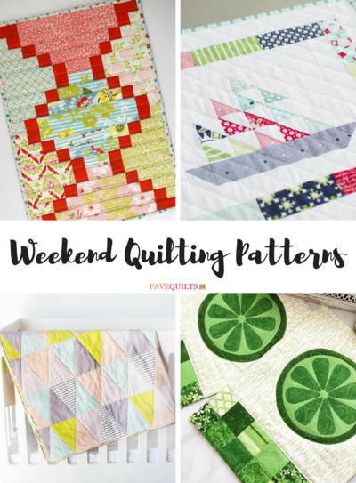 Weekend Quilting Patterns: 34 Quick Quilts to Make in a Weekend ... : quilts to make in a weekend - Adamdwight.com