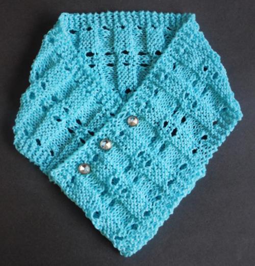 Spring Sparkle Knit Scarf Pattern | AllFreeKnitting.com