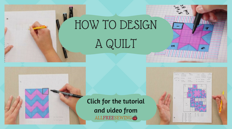 How to Design a Quilt | AllFreeSewing.com : how to design a quilt - Adamdwight.com