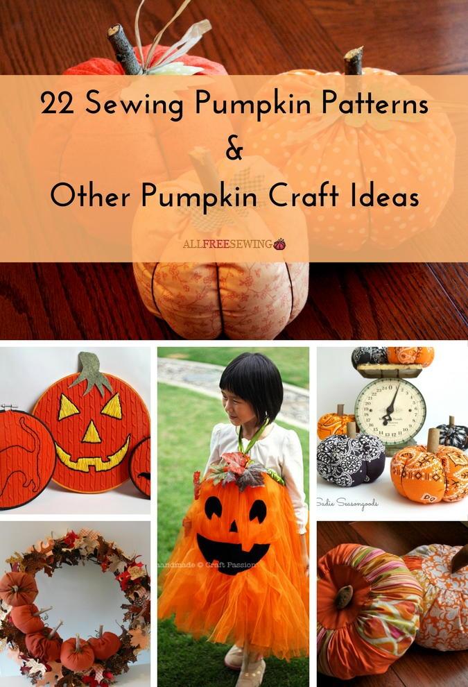 22 sewing pumpkin patterns amp other pumpkin craft ideas