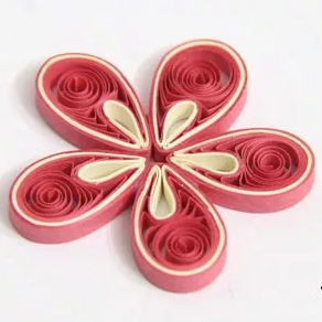 Exotic Quilled Flower