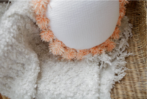 Frilly DIY Pom-Pom Pillow