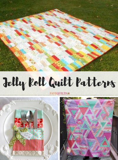 45 Free Jelly Roll Quilt Patterns + New Jelly Roll Quilts ... : quilts from jelly rolls - Adamdwight.com