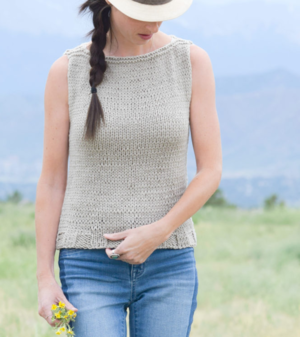 Easy Knit Tank Top Pattern