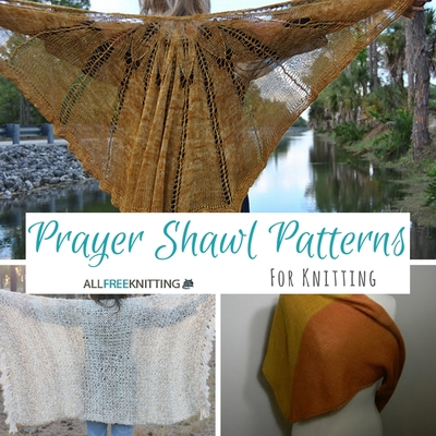 14 Prayer Shawl Patterns For Knitting Allfreeknitting