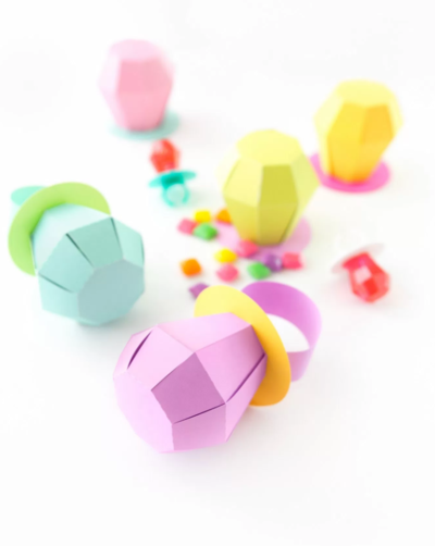 Delectable Ring Pop Treat Boxes