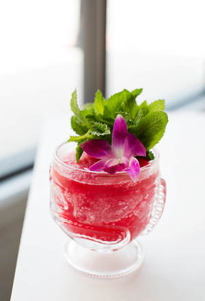 Mouth-Watering Frozen Hibiscus Margarita