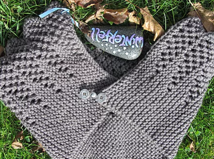 Game Of Thrones Knit Shawl And Hand Warmer Pattern Allfreeknitting