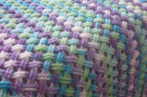 Interweaving Cables Crochet Stitch Tutorial