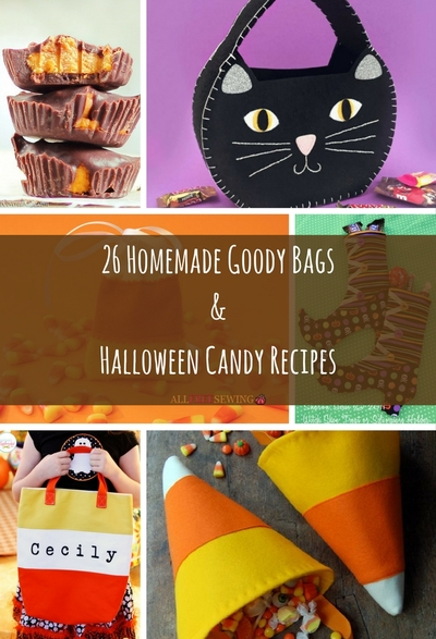 26 homemade goody bags halloween candy recipes allfreesewing com