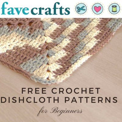18 Free Crochet Dishcloth Patterns For Beginners Favecrafts