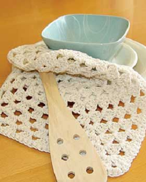 Grannys Square Dishcloth