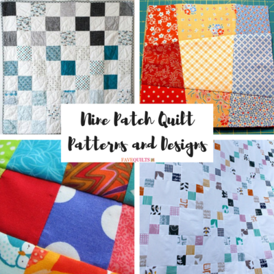 Free Nine Patch Quilt Patterns + Other Nine Patch Designs ... : nine block quilt pattern - Adamdwight.com