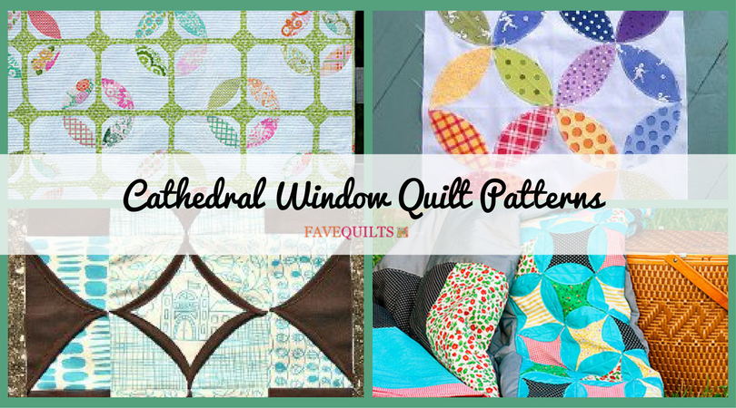 12 Cathedral Window Quilt Patterns | FaveQuilts.com : quilt cathedral window pattern - Adamdwight.com