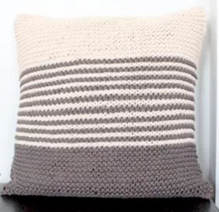 Simple Stripes DIY Pillow Pattern