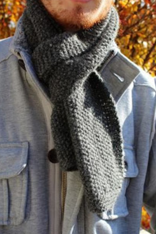 Extra Cozy Knit Scarf Pattern Allfreeknitting