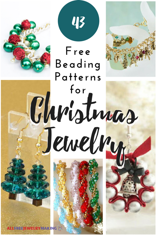 43 Free Beading Patterns for Christmas Jewelry ...