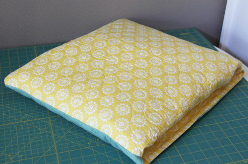 Quilt to Quillow Tutorial