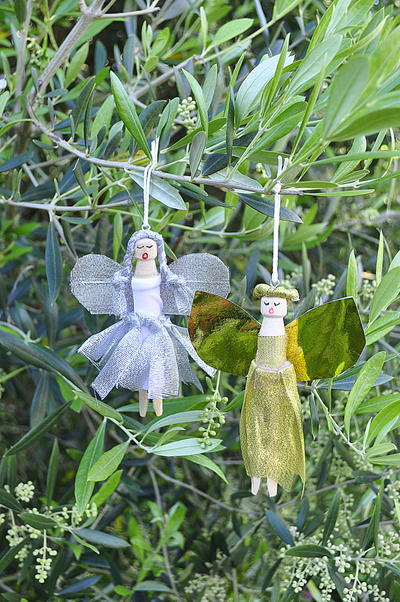 Adorable Angel DIY Christmas Decorations