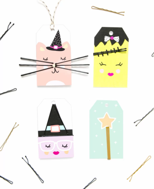 Friendly Monster Gift Tags