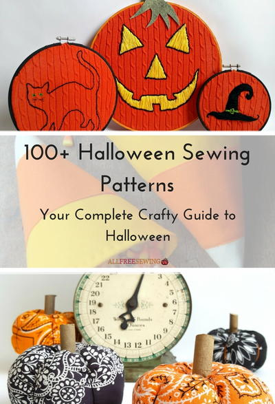 100+ Halloween Sewing Patterns: Your Complete Crafty Guide to ...