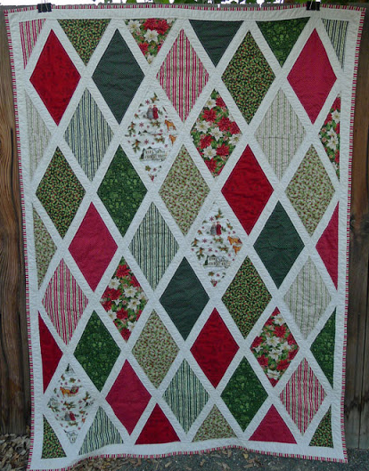 Anne Of Green Gables Inspired Christmas Quilt FaveQuilts Gorgeous Christmas Quilt Patterns