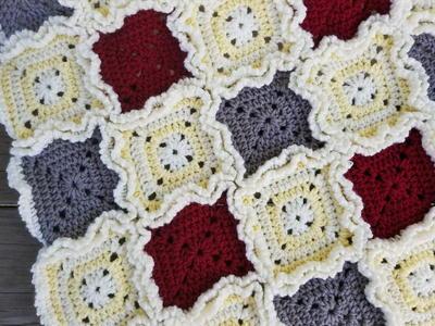 36 Colorful Crochet Afghan Patterns Favecrafts