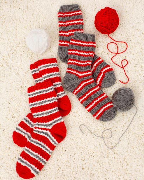 Cozy Christmas Knit Slipper Pattern