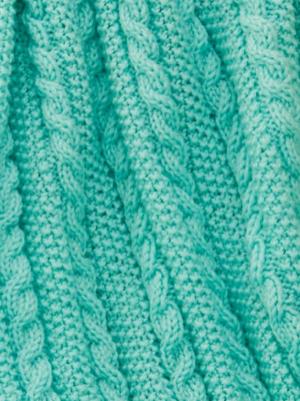 Easy Cable Knit Blanket Pattern Allfreeknitting Com