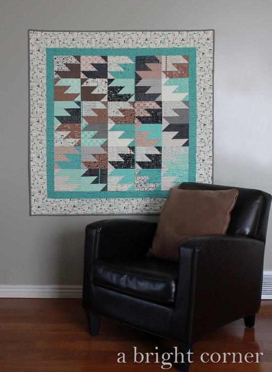 Minty September Steps Quilt