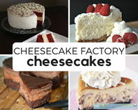 10 Cheesecake Factory Cheesecakes: Make-At-Home Cheesecake Factory Recipes